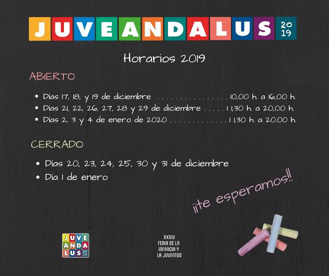 Horarios Juveandalus